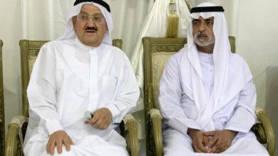Photo of نهيان بن مبارك يعزى بوفاة محمد أحمد لطفي