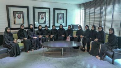 """Photo of """"صندوق خليفة"""" يستقبل الفتيات المشاركات في المخيم الصيفي للعام 2019"""