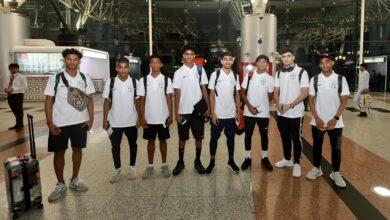 Photo of وفد برنامج مجلس دبي الرياضي لتطوير المواهب يغادر إلى إسباني