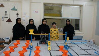 Photo of طلاب النادي العلمي في بطولة الصين العالمية للروبوت