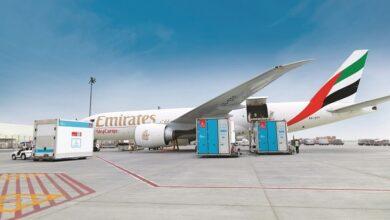 Photo of الإمارات للشحن الجوي تسجل نمواً في عمليات نقل الأدوية والمنتجات سريعة العطب صيفاً عبر دبي