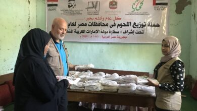 Photo of نشاط مكثف لمؤسسة محمد بن راشد في الصعيد