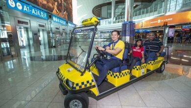 "Photo of مطارات دبي تطلق خدمة ""تكسي دي اكس بي"" المجانية في مبنى 3 بمطار دبي الدولي"