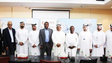 Photo of مياه زايد تتبرع بـ 100٪ من صافي أرباح مبيعاتها لهيئة الهلال الأحمر الإماراتي