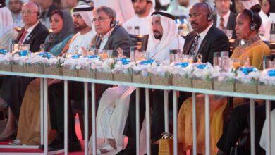 Photo of حاكم الشارقة يشهد حفل افتتاح فعاليات الدورة الـ 38 من معرض الشارقة الدولي للكتاب