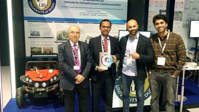 """Photo of جامعة دبي تحتفل بفوزها بالمركز الأول في مسابقة """"تحدي دبي للتنقل ذاتي القيادة"""""""