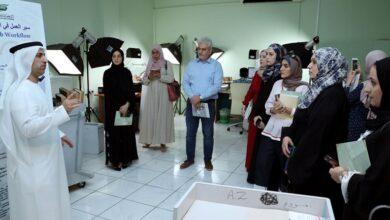 Photo of جمعة الماجد يلتقي طالبات جامعة الغرير