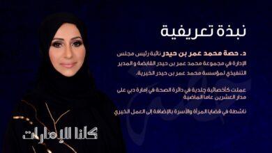 Photo of حصة بن حيدر 5 محاور رئيسية لبرنامجها للترشح للمجلس الوطني