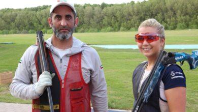 Photo of سعيد آل مكتوم والبريطانية امبر يحصدان فضية أول زوجي للاسكيت في ختام بطولة العالم للرماية
