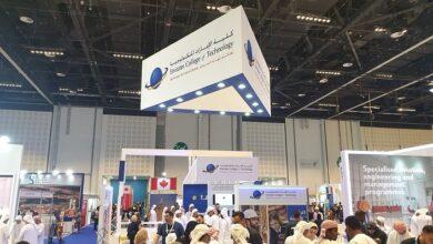 """Photo of كلية الإمارات للتكنولوجيا تشارك في """"نجاح 2019"""""""