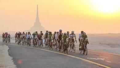 Photo of 500 دراج في الجولة التحضيرية الثانية لتحدي سبينس دبي 92