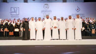 Photo of أحمد بن محمد يحضر حفل جائزة راشد للتفوق العلمي 2019