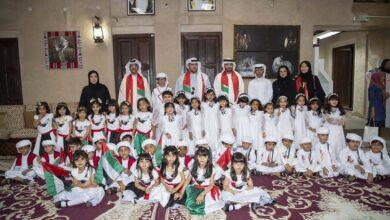 Photo of الشيخ سعيد بن حمدان بن راشد آل مكتوم يحضر احتفال منطقة دبي تعليمية وهيئة دبي للثقافة والفنون باليوم الوطني الــ 48