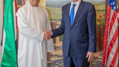 Photo of معالي عبيد حميد الطاير يلتقي وزير الخزانة الأمريكي ستيفن منوشن