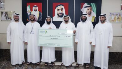 "Photo of نصف مليون درهم من ""دار البر"" لمشروع وقفي أطلقته ""الأوقاف وشؤون القصر"""