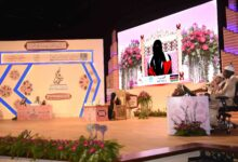 Photo of Sheikh Fatima Quran competition with 24 memorizers examined