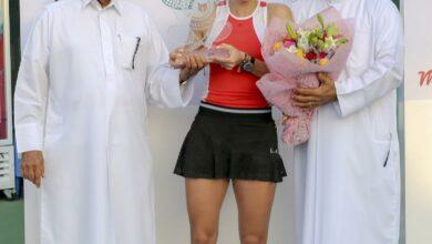 Photo of الجمهور مسك ختام دولية الحبتور لتنس السيدات