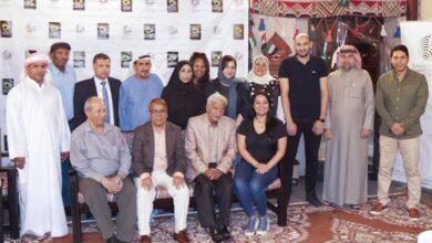 Photo of بحضور الحمادي والمعيني جمعية الصحفيين الإماراتية تعقد أول مجلس شهري للصحبة الطيبة في بيت الكلمة بالفهيدي