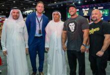 "Photo of مطر الطاير يفتتح معرض دبي لـ ""بناء الأجسام"" و""النشاط والحيوية"""