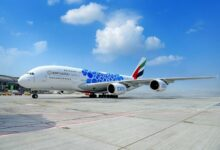 Photo of طيران الإمارات تشارك بطائرة A380 في معرض الكويت للطيران