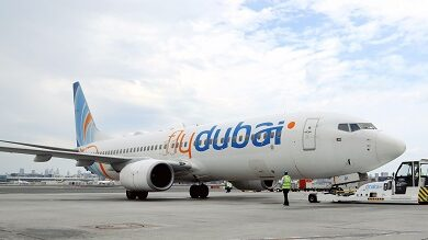 """Photo of دناتا تنجز """"مناولةً خضراء"""" لطائرة فلاي دبي في مطار دبي الدولي"""