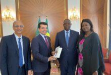 Photo of الرئيس السنغالي يؤكد دعمه للإيسيسكو خلال استقباله المدير العام للمنظمة