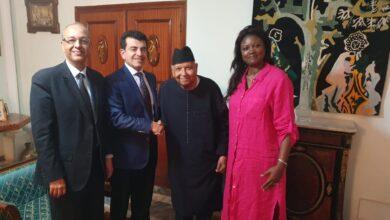 Photo of زيارة تقديرية من المدير العام للإيسيسكو لمدير عام اليونسكو الأسبق