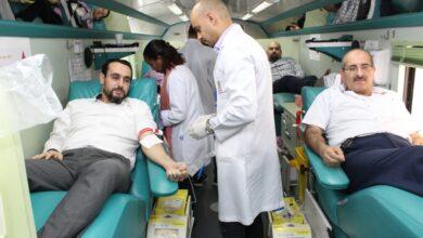 Photo of مركز جمعة الماجد ينظم حملة للتبرع بالدم