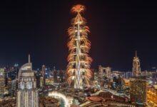 Photo of برج خليفة يبهر العالم بعرضٍ مذهل في وسط مدينة دبي بمناسبة رأس السنة الجديدة