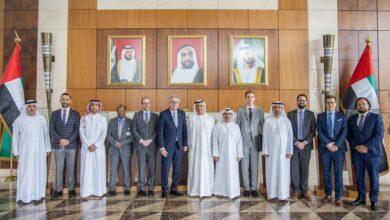 Photo of معالي عبيد حميد الطاير يلتقي مع وزير المالية في لوكسمبورغ