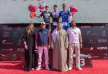 "Photo of مطر الطاير يتوج أبطال دبي للرجل الحديدي ""آيرون مان"""