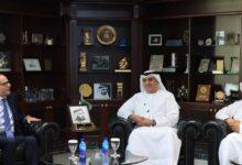 Photo of نيابة دبي تستقبل القنصل المصري