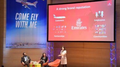 """Photo of """"هيّا معنا"""" مبادرة من مهرجان طيران الإمارات للآداب تلهم الطلبة حول تنوع الأدوار في مجموعة الإمارات"""