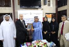Photo of درع جمعية الصحفيين الإماراتية لرئيس وكالة أنباء الشرق الأوسط