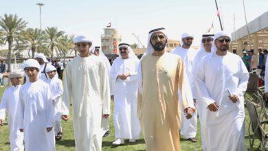 Photo of محمد بن راشد يشهد السباق الرئيسي لكأس ولي عهد دبي للقدرة في سيح السلم