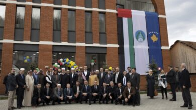 Photo of «خيرية آل مكتوم» تدشن مركز الوقف العاشر في كوسوفو
