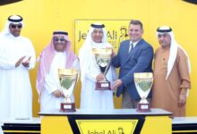 Photo of مضمار جبل علي يستضيف السباق الختامي للخيول العربية والمهجنة الأصيلة