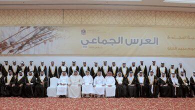 Photo of وزارة تنمية المجتمع تنظم عرساً جماعياً لــ 40 شاباً في دبي