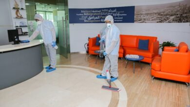 Photo of Isnaad's New Disinfection and Cleaning Solution  Contributing a Safe and Germ-free Environment