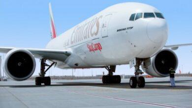 """Photo of """"الإمارات للشحن الجوي"""" تضمن توفير إمدادات الأغذية والأدوية في دولة الإمارات والعالم"""