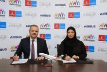 Photo of تعاون بين مجموعة الإمارات وإيرباص لتوفير برامج قيادة لمواطني الدولة