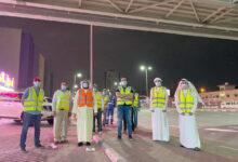 Photo of وزارة تطوير البنية التحتية تعقم مداخل ومخارج محطات البترول على الطرق الإتحادية