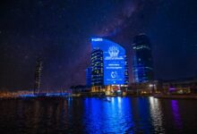 Photo of Al-Futtaim Group Real Estate's flagship destination Dubai Festival City Honors Front Liners in #LightItBlue campaign