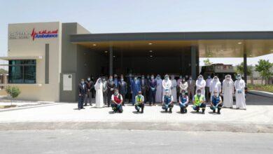 "Photo of إسعاف دبي"" تدشن محطة شوبا الإسعافية في ند الشبا"