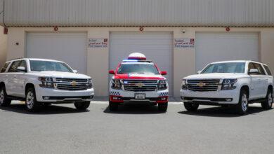 Photo of الكندي للسيارات تقدم 3 مركبات متطورة  لإسعاف دبي