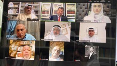 Photo of مؤسسة العويس الثقافية تنظم حلقة نقاشية افتراضية عن سيرة أحمد أمين المدني عبر كتابين من إصداراتها