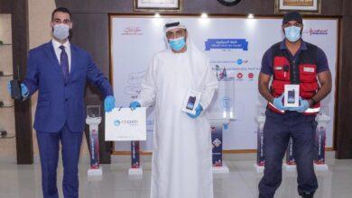 Photo of سيجنس تليكوم  تهدي إسعاف دبي أجهزة اتصال تعمل في المناطق النائية