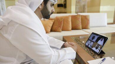 Photo of منصور بن محمد يترأس اجتماع مجلس دبي الرياضي