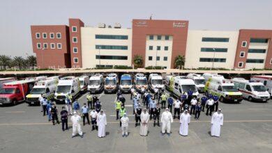 Photo of 25 مستشفى و 26 مركزا خاصا يدعمون إسعاف دبي