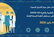 Photo of ( مستقبل الرعاية الصحية بعد كورونا ) ورشة عمل مــركــز الـــشـــرق لــلــبــحـوث في دبي